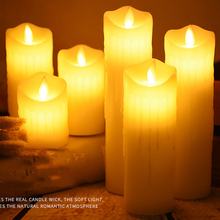 Candle-Light Dancing Decorative Christmas Flame Led Wax Holiday