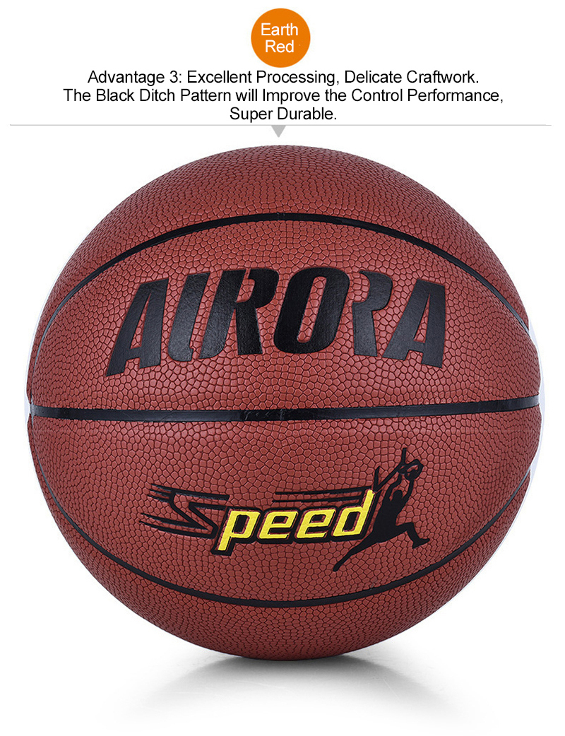 FURRA Professional Standard Basketball Abrasion-Resistant PU Skin Durable Butyl Tube Basketball for Adult Match Trainning SPEED (16)