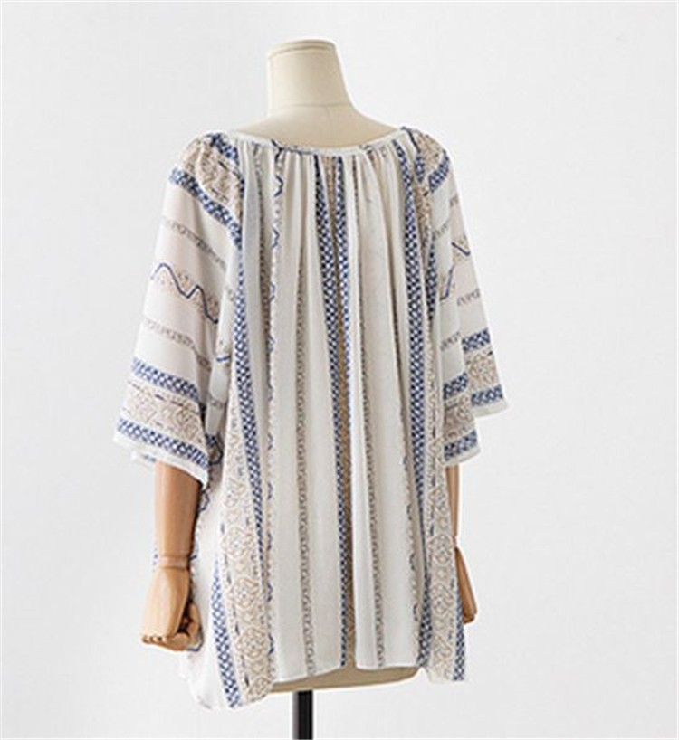 HTB1kBNJLXXXXXaJaXXXq6xXFXXX7 - Summer style Kimono blouses top Plus size XL-5XL Women shirts
