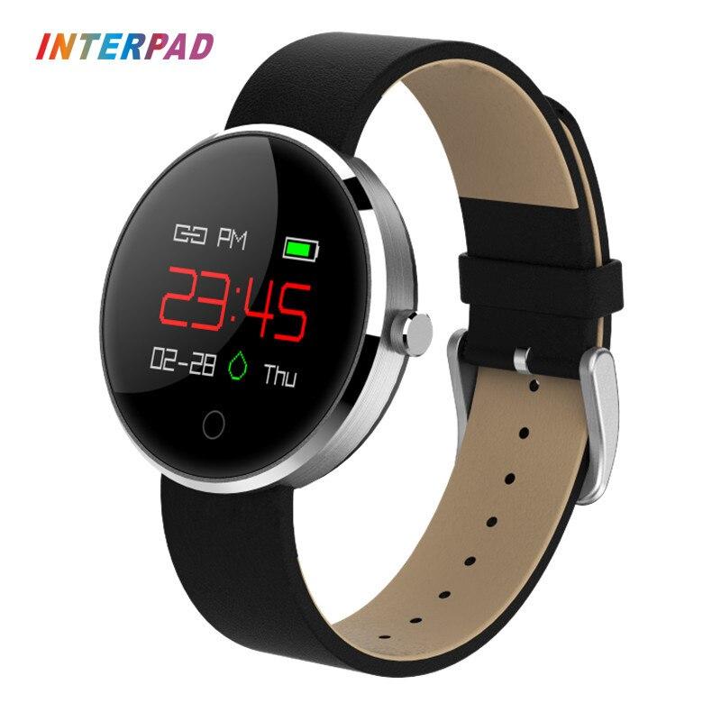 Новый interpad DM78 SmartWatch модные спортивные Для мужчин Для женщин Смарт часы <font><b>Bluetooth</b></font> Беспроводные устройства для MOTO Xiaomi Умные часы