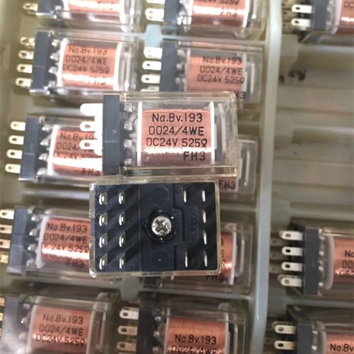 HOT NEW 24V relay Na.BV.193 D024/4WE DC24V 525 Na.BV.193 D024-4WE DC24V 24VDC 24V 14PIN все цены