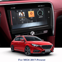 Nawigacja GPS ekran ze szkła ze stali o Film dla MG6 2017 2018 2019 TPU wyświetlacz deski rozdzielczej ekran Film naklejki samochodowe akcesoria wewnętrzne w Naklejki samochodowe od Samochody i motocykle na