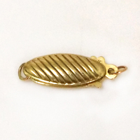 6 16 Mm 14 K Yellow Gold Fish Shape Jewelry Clasp Sold By Piece