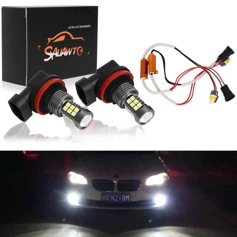 2X H8 H11 9006 HB4 LED Fog Light Bulb Auto Car Driving Drl Lamp LED Bulbs