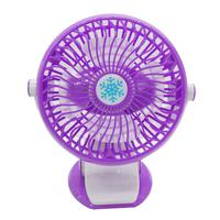 Portable Rechargeable Clip on Baby Cart Office Mini USB Fan Air Cooler