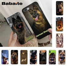 Babaite german shepherd dog High Quality Phone Case for iPhone X Xs Xr XsMax 6 6s Plus 7 7plus 8 8plus 5 5s11 11pro 11promax(China)