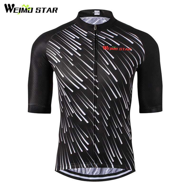 Weimostar Cycling Jersey Summer Meteor Cykeltøj Mountain Bike Jersey Maillot Ropa Ciclismo Hombre Racing Cykeltøj