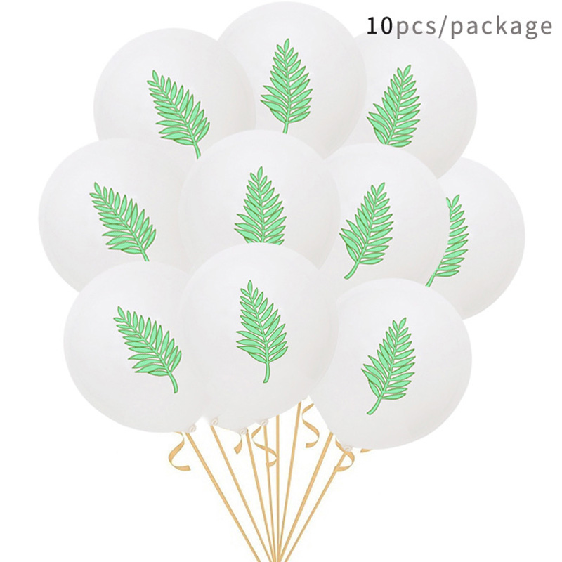 12Inch Flamingo Pineapple Confetti Turtle Leaf Balloon Latex Birthday Decorations Balloons Wedding Babyshower Party Supplies in Ballons Accessories from Home Garden