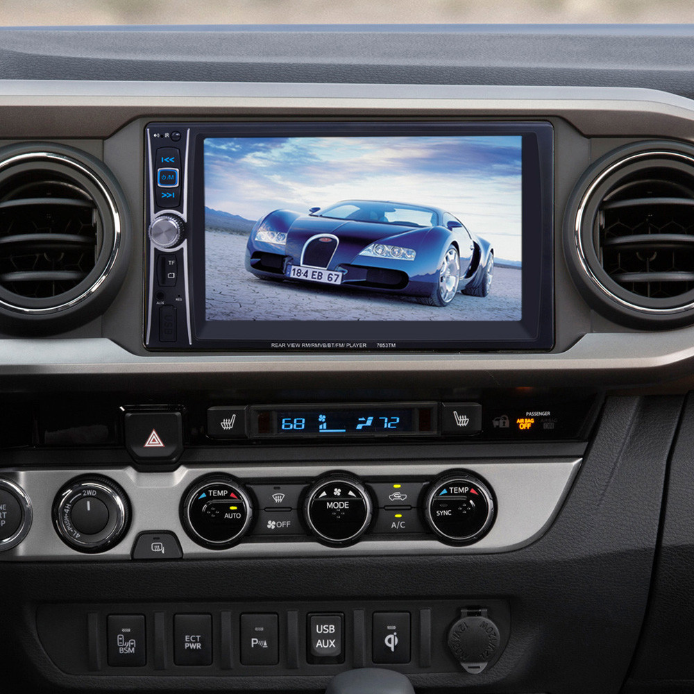 ФОТО Auto car-styling car styling  7 Double 2 Din Touchscreen In dash Car Stereo Radio Mp3 Player FM Aux feb21