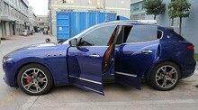 4pcs for Maserati Levante Body trim Anticollision strip decorate Bright sticker