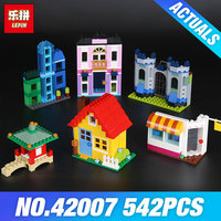 In Stock Lepin 42007 542Pcs Creative Series The 10703 Creative Builder Box Set Building Blocks Bricks
