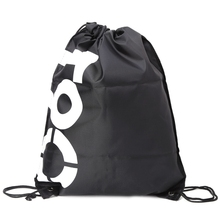 Backpack Shopping Drawstring Bags Waterproof Travel Beach Gym Shoes Sports Pack