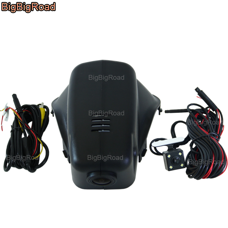 BigBigRoad Car Video Recorder Wifi DVR DashCam Camera For volvo xc60 2010 2011 v60 s60 S60L