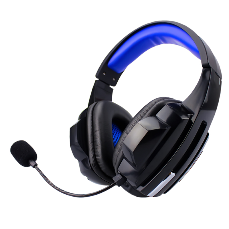 Soyto Stereo Bass Computer Gaming Headset Headphone Earphone With Microphone For Computer Gamer each g8200 gaming headphone 7 1 surround usb vibration game headset headband earphone with mic led light for fone pc gamer ps4