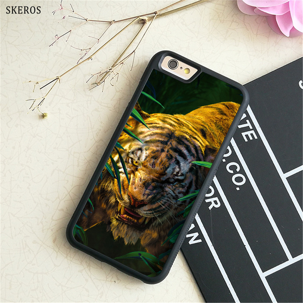 SKEROS The Jungle Book (3) phone case for iphone X 4 4s 5 5s 6 6s 7 8 6 plus 6s plus 7 & 8 plus #B732