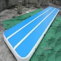 inflatable air track inflatable gym mat 15*2 M physical exercise Air Tumble Track Gymnastics training use for taekwondo or yoga