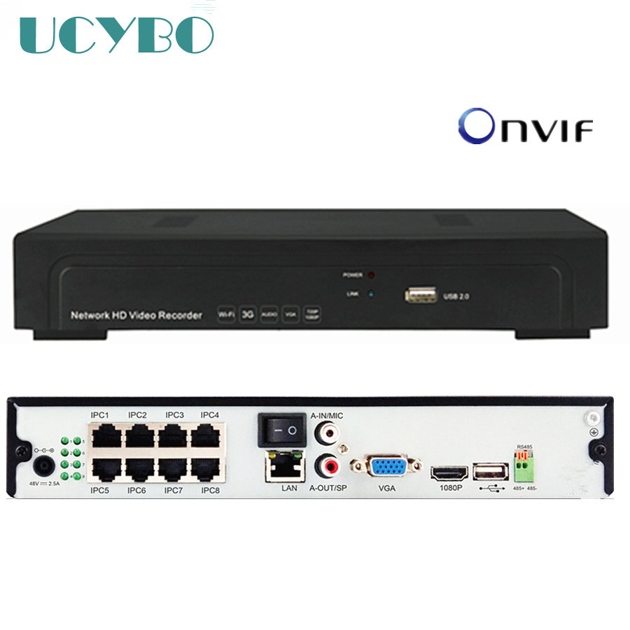 8ch NVR POE FOR 5MP 3MP 1080P IP Camera cctv security Network Video Recorder 5mp 8 channel POE 48V NVR P2P Onvif HDMI hd security cctv onvif nvr 8ch poe network video recorder h 264 hdmi vga support 1 sata hdd p2p for cctv security camera system