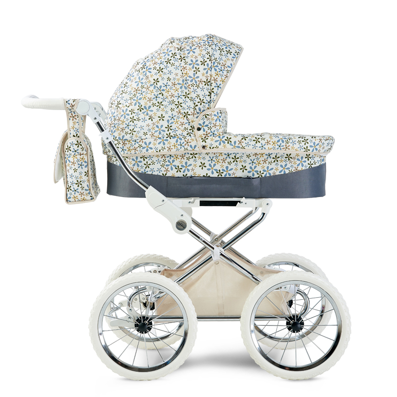 HK Europe baby stroller two-way Reduce vibration trolley luxury high-profile BB carriage newborn baby umbrella cart HK Europe baby stroller two-way Reduce vibration trolley luxury high-profile BB carriage newborn baby umbrella cart
