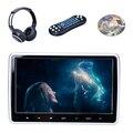 HDMI 10 Дюймов HD Digitl TFT LCD Сенсорный Экран Автомобиля Подголовник монитор DVD Плеер Поддержка ИК FM USB SD Наушники Game Remote управления