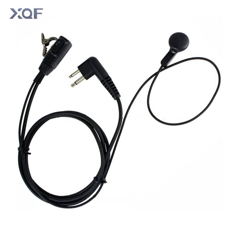 10xfbi Style Acoustic Covert Earbud Headset Earpiece Ptt For Motorola 2-way Radio Mr350 T9500 Mh230 Em1000 Tlkr T6 T7 T8 T9 T60 Communication Equipments