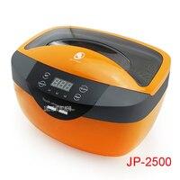 JP 2500 110 В/220 В ультразвуковой чистки дома очки ювелирных украшений зубные лаборатории молоко 2.5L SUS304 нержавеющая сталь
