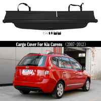 Rear Cargo Cover For Kia Carens 2007 2008 2009 2010 2011 2012 privacy Trunk Screen Security Shield shade Auto Accessories