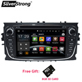 Free Shipping Android HD Two Din 7Inch Car DVD For FORD FOCUS 2 MONDEO S-MAX android car dvd car gps radio With Wifi google play