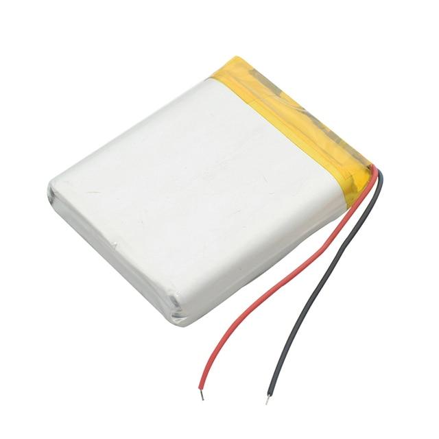 2400mAh 104050 Rechargeable Li-polymer Battery Replacement Battery Rechargeable DIY Battery For MP3 MP4 DVD MID PDA Speaker 3