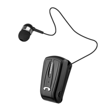 Fineblue F V6 Newest Portable Business Wireless Bluetooth Headset Telescopic Type Collar Clip HD Sound Earphone with Mic F V3