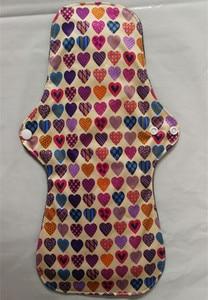Image 1 - Newest Bamboo Mamas Cloth Pad Bamboo Sanitary pads For Women Girls Printed Menstrual Pads Liners Washable 30 pcs/lots