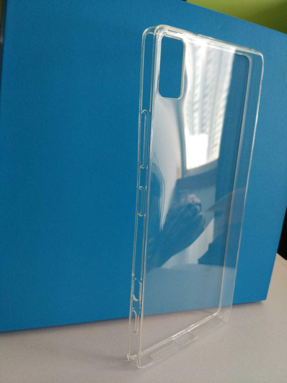 New High Quality Ultra Transparent Silicon case Clear soft case For Lenovo Z90 7 Z90 3 in good quality freeship in Phone Bumpers from Cellphones Telecommunications