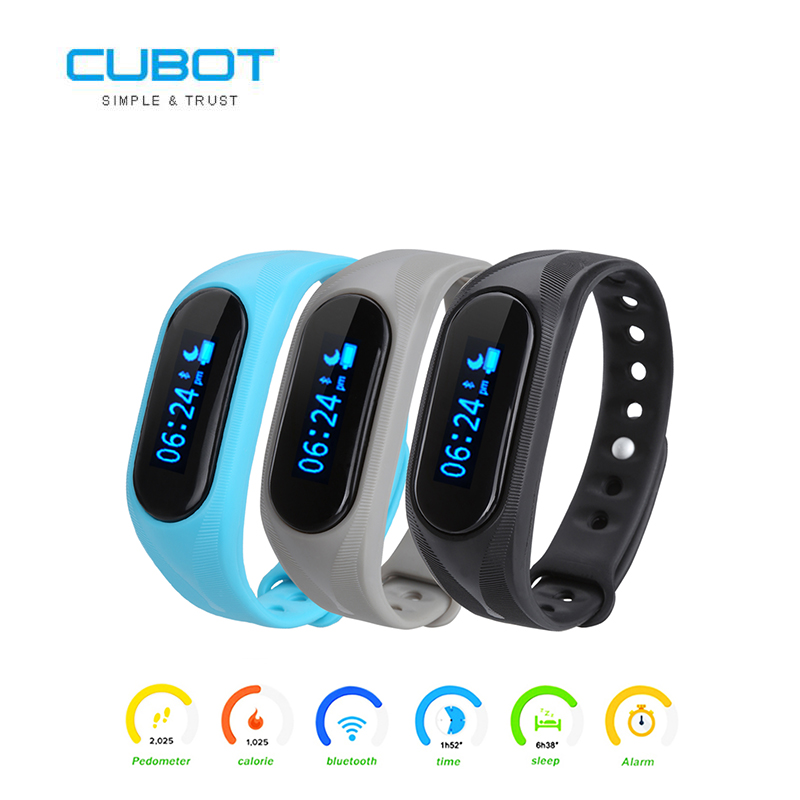 imágenes para Smartband CUBOT V1 Podómetro Call/SMS/Sedentaria Inteligente Pulsera Notificación Remota anti-perdida Bluetooth 4.0 para Android IOS teléfono