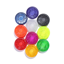 Mooer 5 piezas Footswitch Topper Color al azar Mix caramelo colorido parachoques de plástico guitarra Pedal Protector