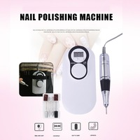 30000RPM Portable Nail Manicure Pedicure Kit Electric Polisher LED Grinding Machine Nail Beauty Tools for Women