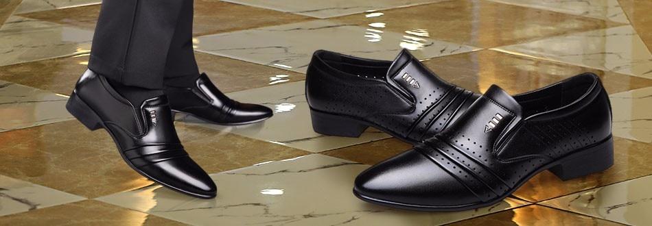 ✓BIMUDUIYU qualité supérieure Oxford Chaussures Hommes