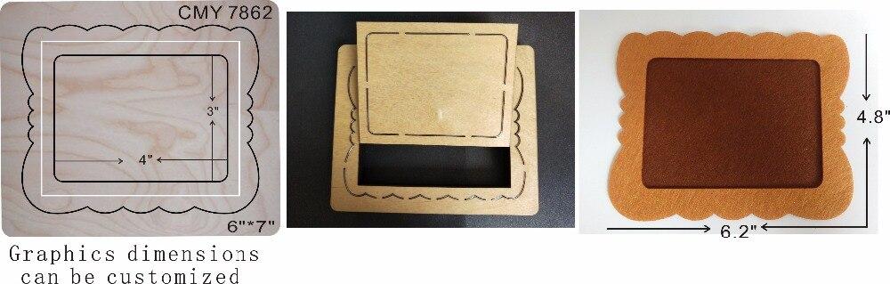 detachable frame wood moulds die cut accessories wooden die Regola Acciaio Die Misura MY