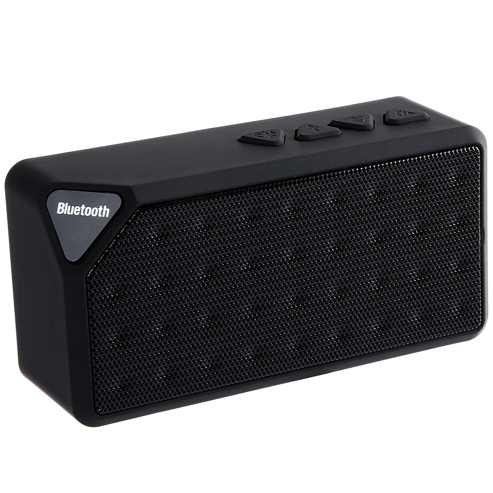 x3 mini bluetooth speaker tf usb fm radio wireless. Black Bedroom Furniture Sets. Home Design Ideas