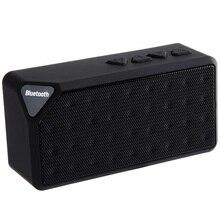 X3 Mini Speaker Bluetooth TF USB Rádio FM Caixa de Som Portátil de Música Alto-falantes Subwoofer com Microfone Sem Fio para iOS Android(China (Mainland))