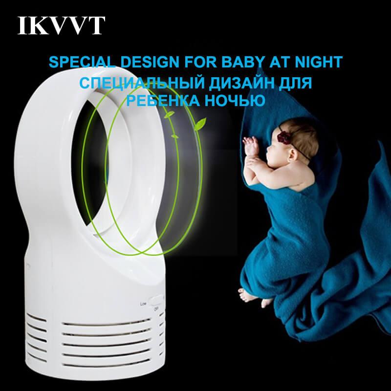 Sraintech Mini Blattloser Ventilator Für Baby Schlafen Elektrische Lüfter  Super Leise Zwei Geschwindigkeit Mini Air Multiplie Für Babesr In Sraintech  Mini ...
