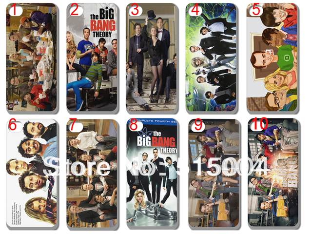 New The Big Bang Theory Hard Back Case For Iphone 5 5th 10pcs/lot +free Shipping