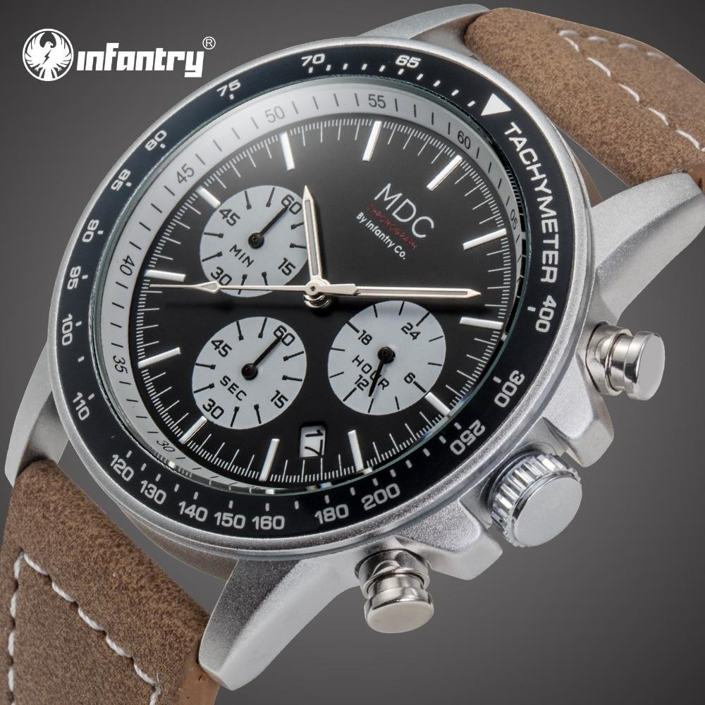 MDC Mens Watches Top Brand Luxury 2018 Chronograph Military Watch Men Date Leather Wrist Watches for Men Clock Relogio Masculino ковш д бани 1 5л оцинкованный