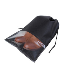 1 pc Portable Waterproof Shoes Storage Bag Drawstring Pull pocket Travel Organizer Drawstring Bags Laundry Makeup Storage Bag