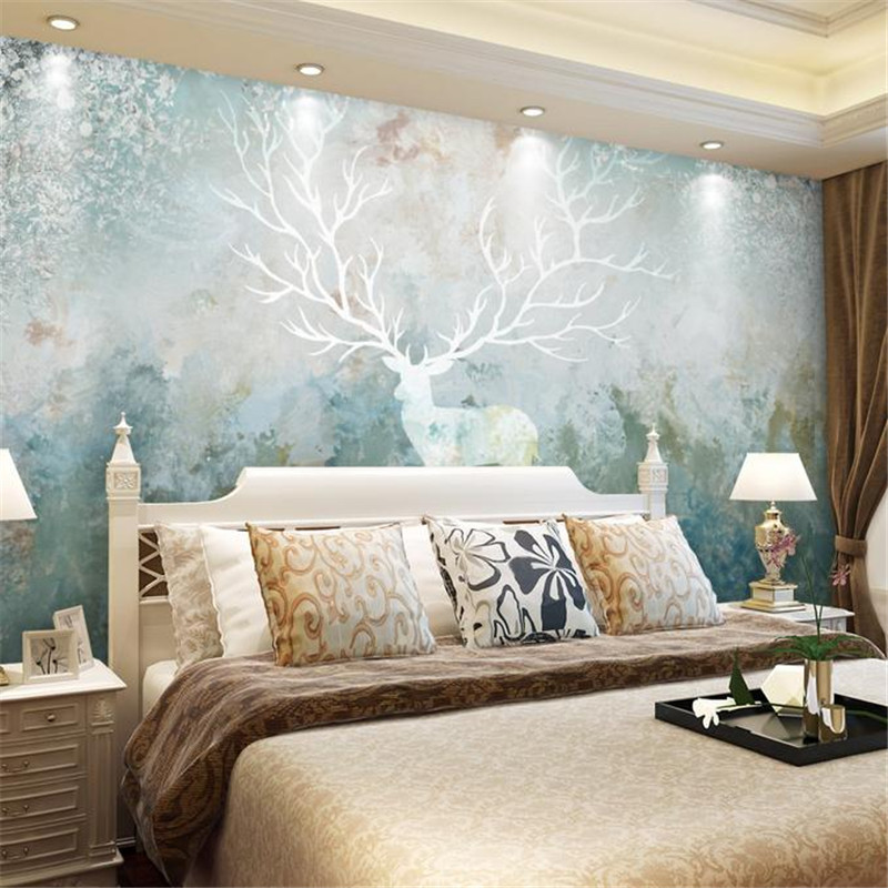 3D custom wallpaper high quality stereo wall mural modern nordic oil painting mural living room TV background vintage wallpaper  free shipping basketball function restaurant background wall waterproof high quality stereo bedroom living room mural wallpaper