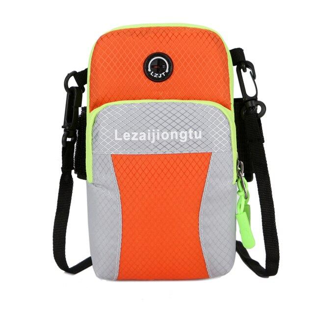 LEZAIJIONGTU Running Arm Bag Smart Phone Small Gym Men Women Jogging Armband Cycling Sport Bags