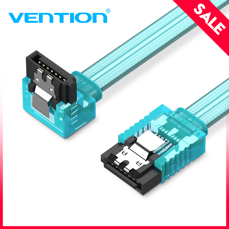 Vention Sata 3.0 7pin Data Cable Super Speed SSD HDD Sata III Right Angle Hard Disk Drive for ASUS Gigabyte MSI Motherboard