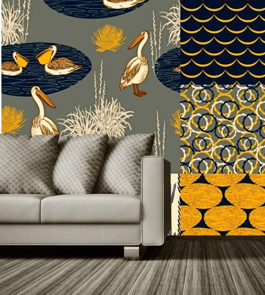 купить Photo wallpaper,Retro art abstract mural papel de parede,living room sofa TV wall bedroom wall papers home decor 3d в интернет-магазине