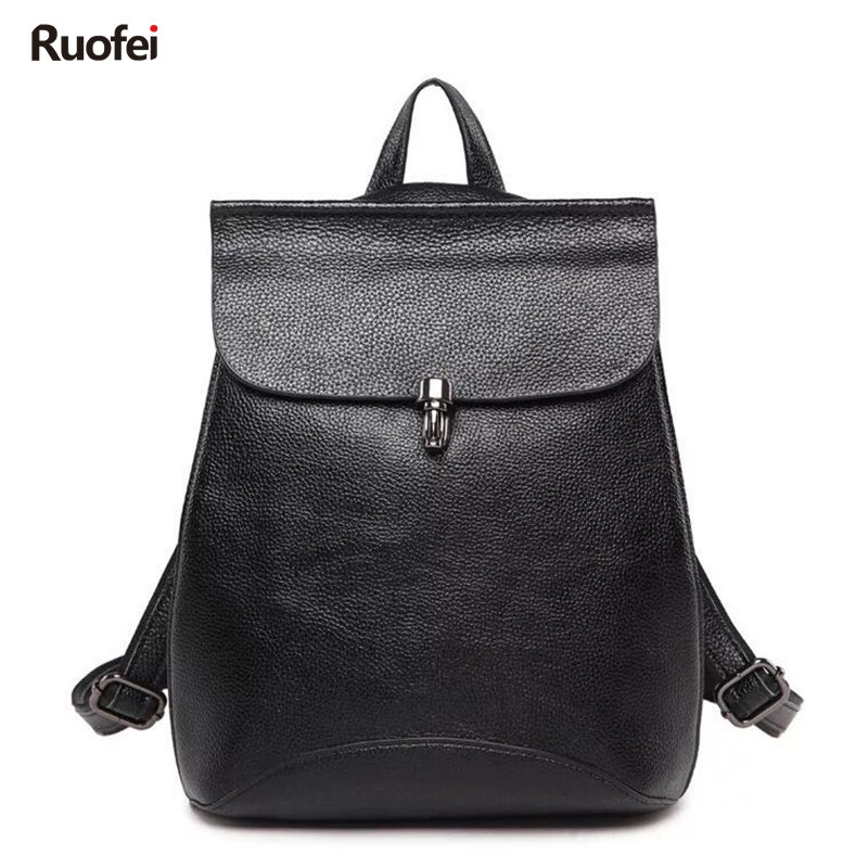 New Design Women Backpack High Quality Youth Leather Backpacks for Teenage Girls Female School Shoulder Bag Rucksack mochila high quality backpacks for women laptop bag printing school backpack bag for teenager girls rucksack masculina female mochila