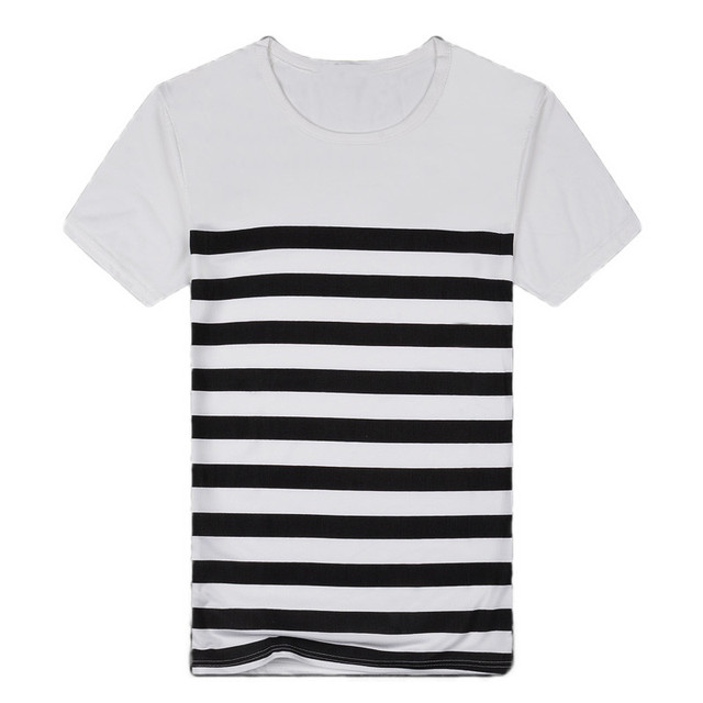 JACOSIN Men's Casual Stripe...