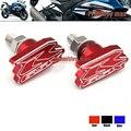 Accesorios de la motocicleta Trasera M6 Fender Eliminator Matrícula Tornillo tornillo Para SUZUKI GSX-R 600 750 1000 GSXR600 GSXR 750 Rojo