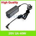 20V 2A ноутбук адаптер переменного тока зарядное устройство для MSI Wind U110 U115 U120 U123 U125 U130 U135 U140 U150 U160 U180 U200 U270 U90